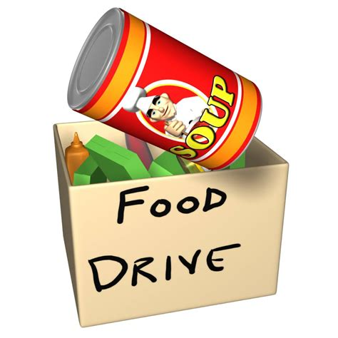 cuisine dessert canned food drive clip many cliparts
