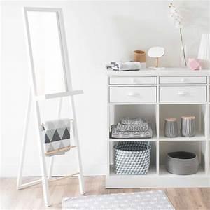 Miroir 160 Cm : miroir psych blanc h 160 cm white maisons du monde ~ Teatrodelosmanantiales.com Idées de Décoration