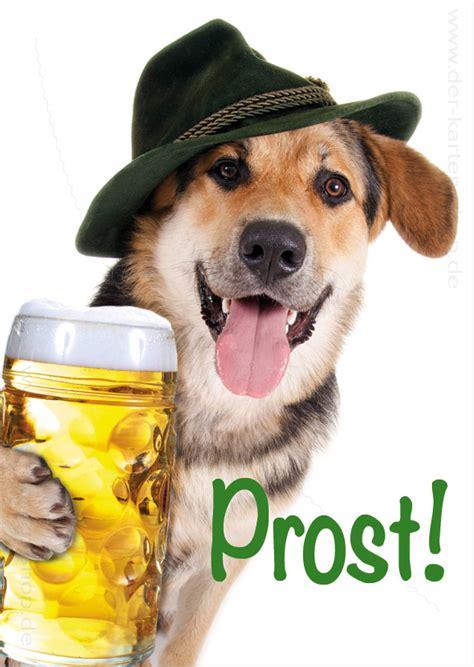 postkarte grusskarte geburtstagskarte schaeferhund mit mass