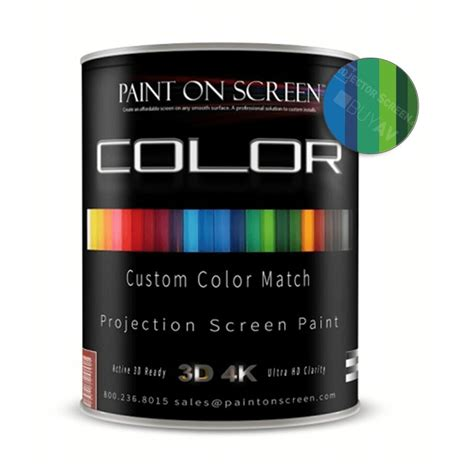 paint color match by vin projector screen paint custom color match with 1 2 gain