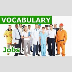 Jobs Vocabulary  Learn English Vocabulary With Picture Lesson 25 Youtube