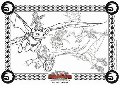 Dragon Coloring Train Dragons Pages Toothless Printable