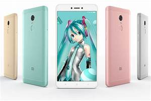 Cuteness Overload  Xiaomi U2019s Redmi Note 4x Dedicated To Virtual Idol Hatsune Miku