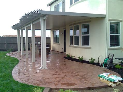 aluminum solid patio covers in sacramento sacramento patio