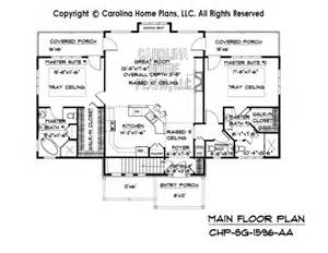 front to back split level house plans small craftsman bungalow house plan chp sg 1596 aa sq ft