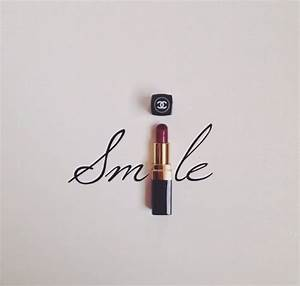 """Smile&quo... Lipstick And Smile Quotes"