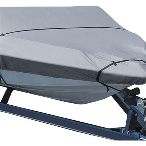 Boat Covers Waterproof polypropylene waterproof boat cover silver 16 18ft buy