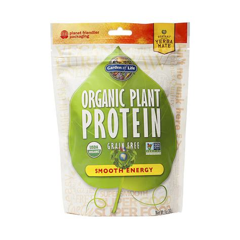garden of protein powder garden of organic plant protein powder smooth energy