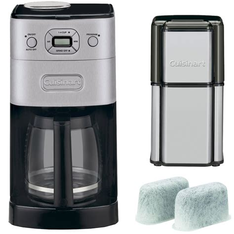 Cuisinart offers a number of different coffee makers, ranging from single serve to automatic and even. Cuisinart Grind & Brew 12-Cup Automatic Coffee Maker (DGB-625BCFR) Refurbished with Refurbished ...