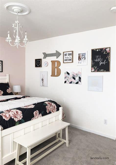 darling diy wall decor  girls bedroom landeelucom