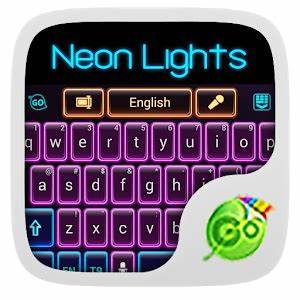 Download Neon Lights GO Keyboard Theme for PC