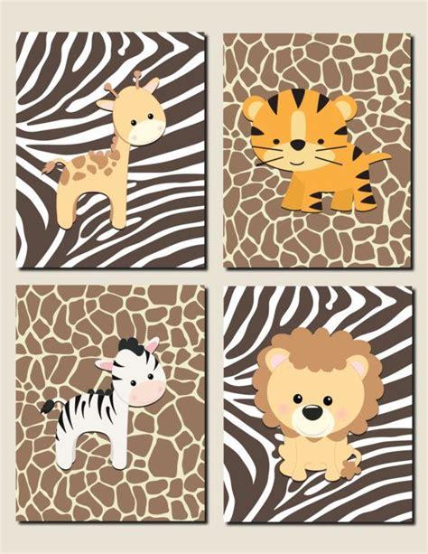 Kinderzimmer Junge Dschungel by Baby Tier Kinderzimmer Dekor Junge Dschungel Thema