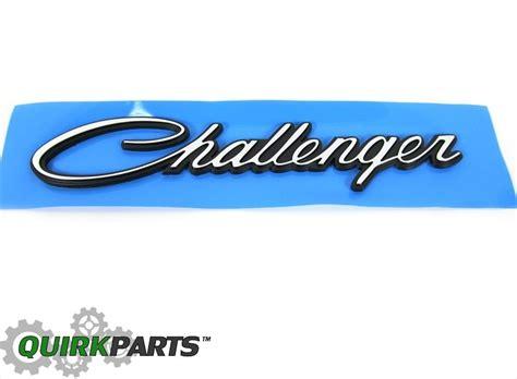 logo dodge challenger 2008 2017 dodge challenger emblem decal nameplate mopar