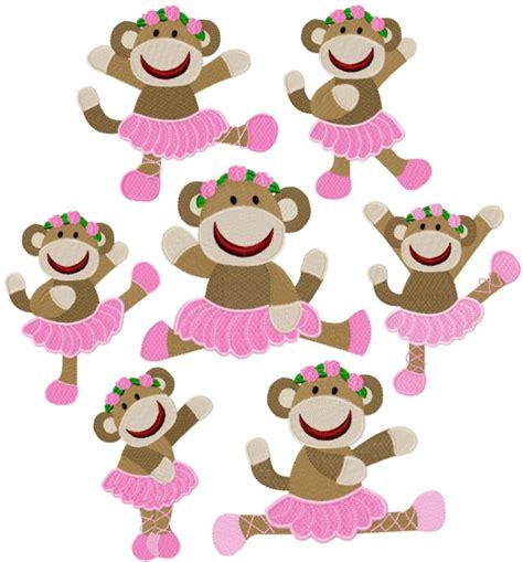 sock monkey ballerinas