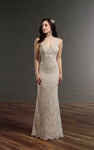 all over lace wedding dress with low back martina liana With all lace wedding dress