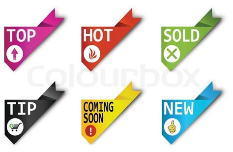 Corner Ribbons-sign-symbol-vector-new,sold,hot,sale