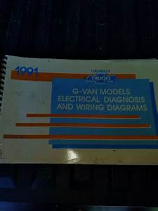 1991 Chevrolet G Van Models Truck Electrical Diagnosis And