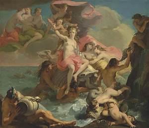 Gaetano Gandolfi - The Birth of Venus, oil on canvas