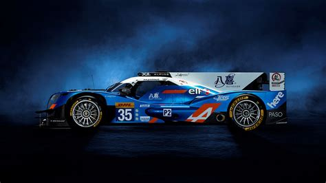 Alpine A460 Race Car 4k Wallpaper