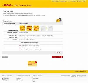 Dhl track and trace