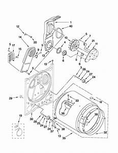 Maytag Medc200xw1 Dryer Parts