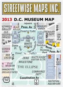 Washington DC Museums Map