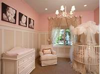 baby girls room 26 Round Baby Crib Designs For A Colorful And Cozy Nursery