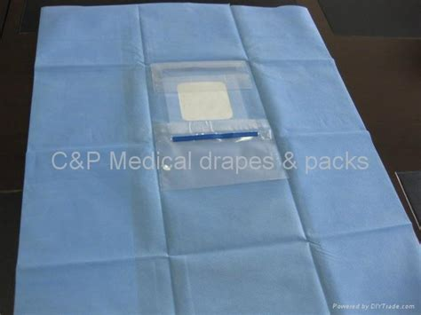ophthalmic drape ophthalmic drape with 1 fluid collectiion pouch china