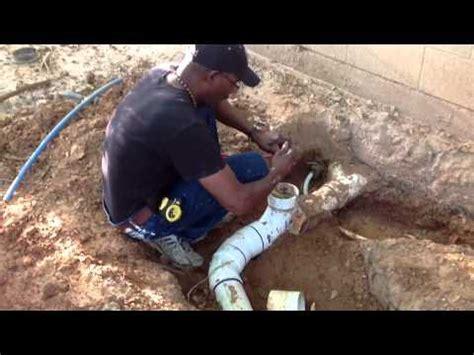 plumbing system test plug youtube
