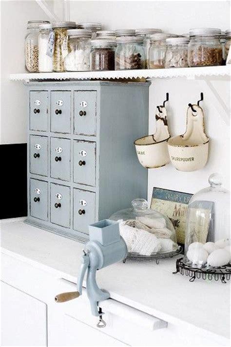 bocaux decoration cuisine idées pour une décoration au style romantique la maison