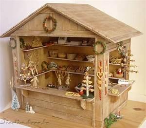 Maison De Noel Miniature : miniatures et maisons de poupees christmas stall with lots of photographs showing how some of ~ Nature-et-papiers.com Idées de Décoration