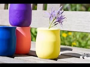 Diy Deco Recup : bricolage diy d co r cup un vase express avec un ballon ~ Dallasstarsshop.com Idées de Décoration
