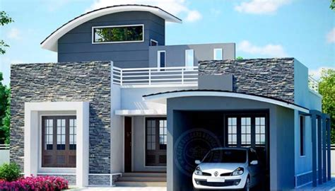 2 Bhk Home Design Image : 750 Square Feet 2 Bedroom Low Budget Home Design And Plan
