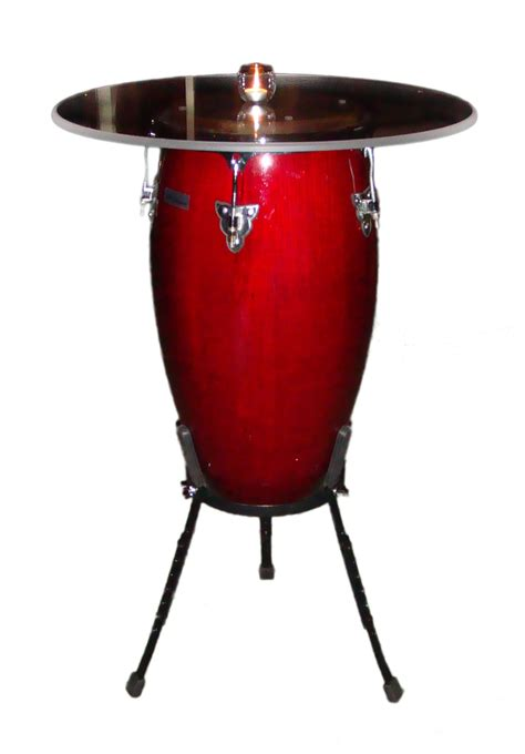 conga drum cocktail table table rentals orlando