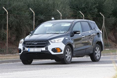 2020 Ford Escape  Kuga Suv Prototype Spied For The First