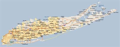 map  long island long island city ny map  york usa