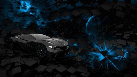 Black And Blue Car Wallpaper Hd by Black Planets Wallpaper 15 Background Hdblackwallpaper