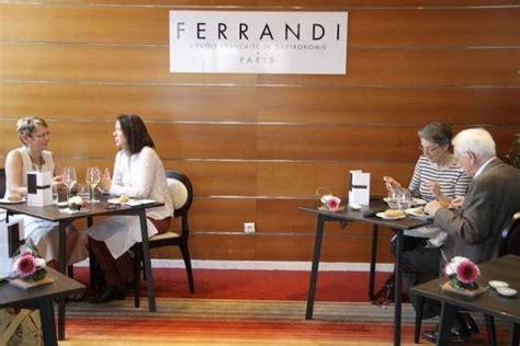 ecole cuisine ferrandi restaurant ecole ferrandi 28 rue de l abbé grégoire 6th