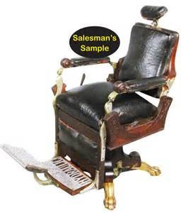 rare 1880 s kochs salesman s sle barber chair