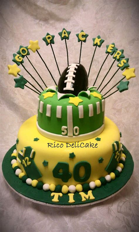 green bay packers cake cakecentralcom
