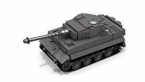 Lego Wwii Tiger 1 Instructions  Full Interior