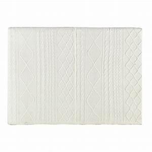 Tissu Pour Tete De Lit : t te de lit 160 en tissu tricot grise tricot maisons du monde ~ Teatrodelosmanantiales.com Idées de Décoration