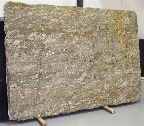 taupe gold granite slab sold by milestone marble size