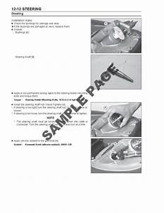 Kawasaki Jetski 800sxr 800 Sx-r Workshop Service Manual