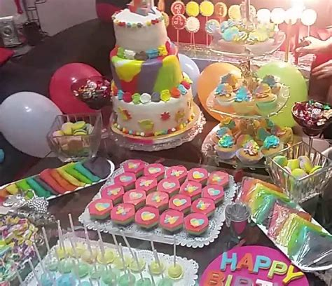 idee decoration table anniversaire  ans deco table