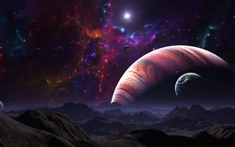 wallpaper landscape fantasy art planet sky artwork