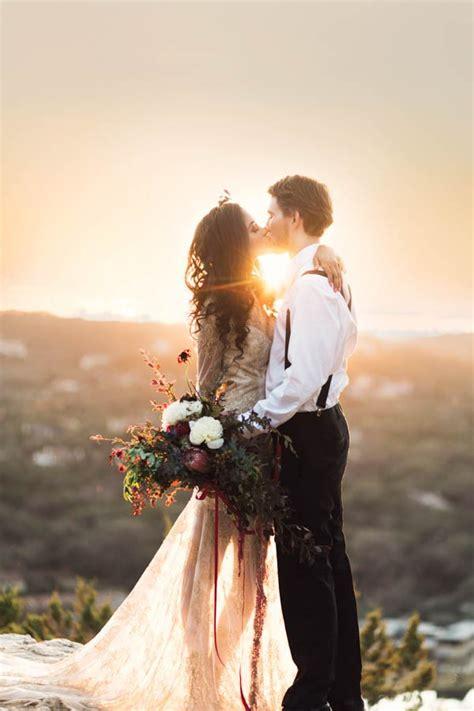 wedding bohemian texas weddings take laguna gloria junebugweddings inspiration boho shoot engagement photoshoot kringer holly junebug team