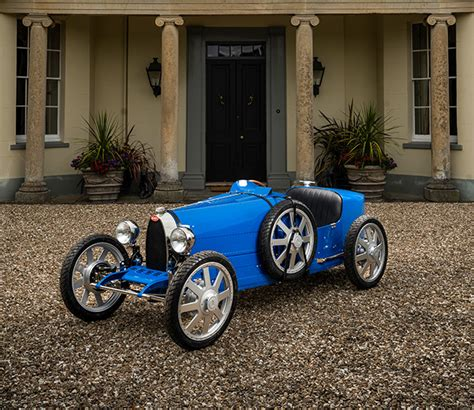 It has a larger, 2.8kwh battery pack for an extended range of about 31 miles, and its 42 mph top speed is also a bit easier to reach thanks to a. The 7 exclusive journal Bugatti Baby II : un chef-d'œuvre pour les petits et les grands