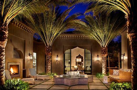 moroccan patios courtyards ideas  decor
