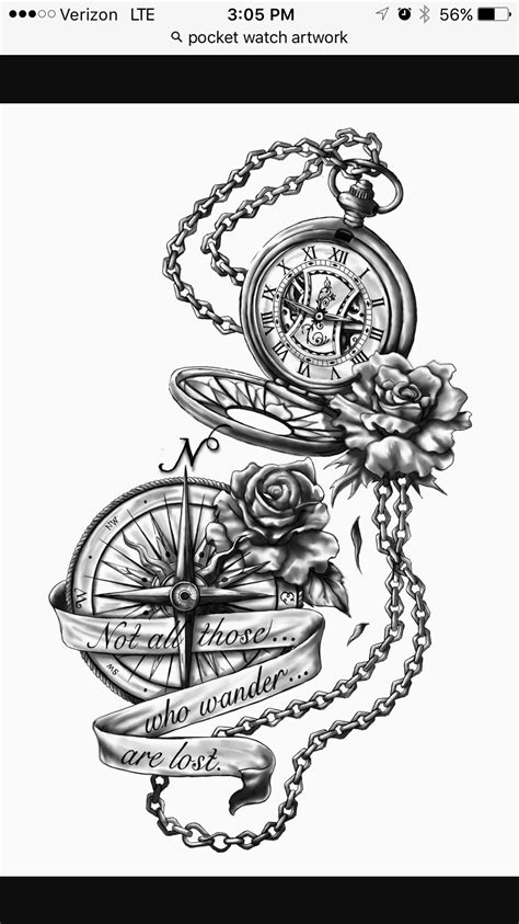Popular Tattoos and Their Meanings | TIme, Clocks, Hour glass etc. | Tattoos, Watch tattoos